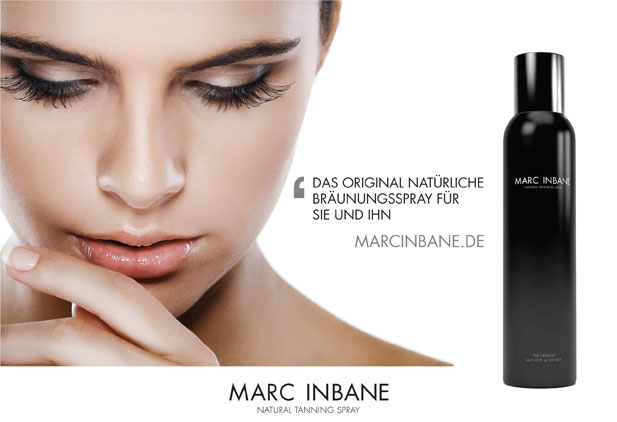 MARC INBANE® NATURAL TANNING SPRAY - Bewell, Fachhandel für Beauty & Wellness, Birgit Weißenberger, Bad Soden